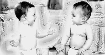 Bebês-Conversando